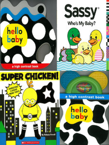 High Contrast: Set of 4 (Board Book)