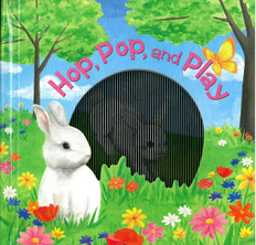Hop, Pop, and Play: A Mini Animotion Book (Hardcover)