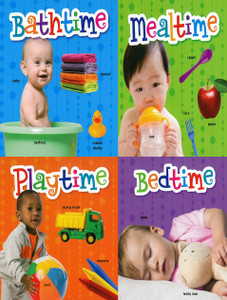 I Love Daily Routines: Set of 4