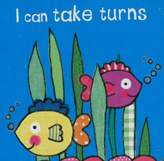 I Can Take Turns (Chunky Board Book) 3 x 3 x .5 inches