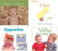 Amazing Baby Set of 4 Board Book)
