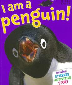 I am a Penguin! (Paperback with a Mask)