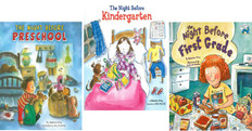 The Night Before School: Set of 3 (Big Hardcover)