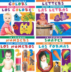I'm Learning First Concepts: Bilingual Set of 4
