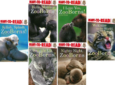 On the Go with ZooBorns!: Set of 6 (Paperback)