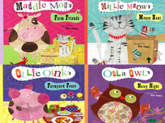 Shared Reading Rhyme Set of 4