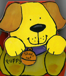 Puppy: Rock & Rattle (Board Book)