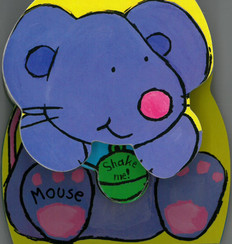 Mouse: Rock & Rattle (Board Book)