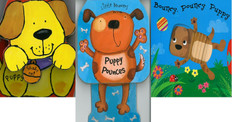 Pouncy Puppy Set of 3