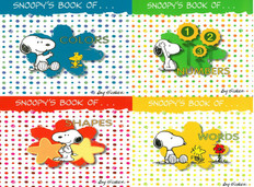 Snoopy's First Concepts Set of 4
