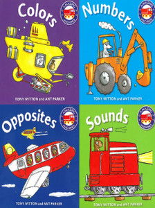 Things That Go: First Concepts Set of 4 (Board Book)