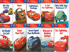 Cars: Level 1 (BSB)- 50 Books