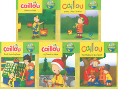 Ecology Club: Caillou (BSB)- 25 Books