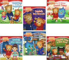 On The Go With Daniel Tiger: Set of 6 (Paperback)