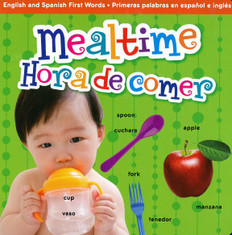 Z/CASE OF 72 - Mealtime / Hora de comer (Board Book)