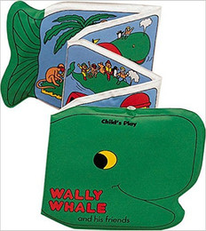 Wally Whale and His Friends: Squeaky Clean (Bath Book)