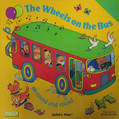 The Wheels OnThe Bus Go Round and Round ( 17x17 Big Paperback)