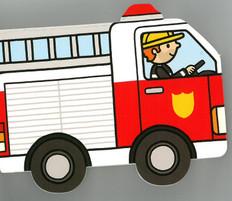 Firetruck: Playtown Chunky (Board Book)