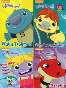 Wallykazam!: Wally's Best Friends Set of 4 (Board Book)