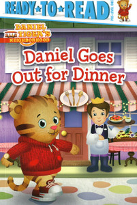 Daniel Goes Out for Dinner:  Daniel Tiger Ready To Read PRE-Level 1 (Paperback)