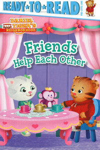 Friends Help Each Other: Daniel Tiger Ready-To-Read PRE-Level 1 (Paperback)