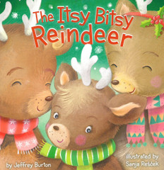 The Itsy Bitsy Reindeer (Board Book)