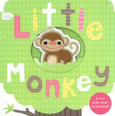 Little Monkey: Little Friends Hide-and-Seek (Board Book)