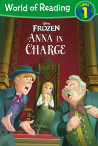 Anna in Charge: Disney Frozen Level 1 (Paperback)