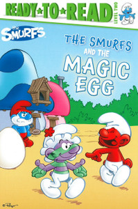 The Smurfs and the Magic Egg: Ready To Read Level 2 (Paperback)