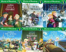 World of Reading Level 1: Disney Frozen Set of 6  (Paperback)