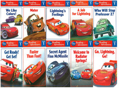 Cars: Reading Adventures Set of 10  Level 1 (Paperback)