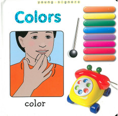 Colors: Young Signers (Board Book)