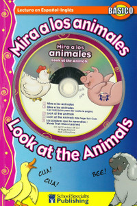 Look at the Animals /Mira a los animales(Paperback w/ CD)