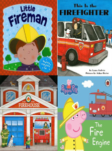 Little Fireman Set of 4