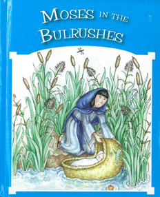 "Moses in the Bulrushes (Hardcover) 4"" x 5"""