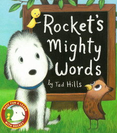 Rocket's Mighty Words: Have Fun & Learn With Rocket (Board Book)