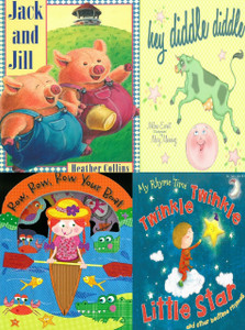 Classic Nursery Rhymes Set of 4