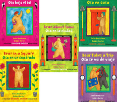 Bilingual Bear Friends Set of 5 (Paperback)