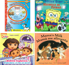 Reading Is Fun!  Bilingual Stories: Set of 4