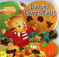 Daniel Loves Fall! (Board Book)
