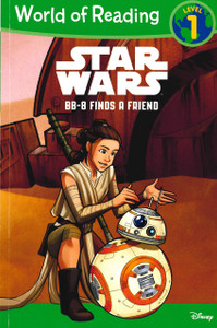 BB-8 Finds a Friend: World of Reading Level 1 (Paperback)