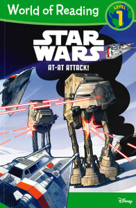 At-At Attack! World of Reading Level 1 (Paperback)