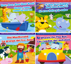 Super Core Bilingual Nursery Rhyme Bundle 2-4 Years - 40 Books (Board Book)