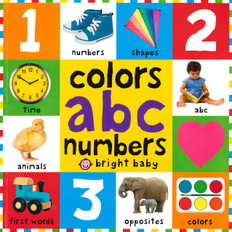 First 100 Colors, ABC, Numbers (Paperback)
