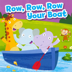 Z/CASE of 72 - BBB Row, Row, Row Your Boat (Board Book)
