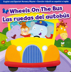 Z/CASE of 72 - Wheels on the Bus: Bilingual (Board Book)