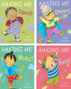 Amazing Me! Set of 4 (Board Book)