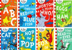 Dr. Seuss's Word Challenge Set of 8 (Paperback)