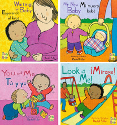 New Baby: Bilingual Set of 4 (Board Book)