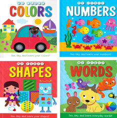 My First Concepts Set of 4 (Board Book)